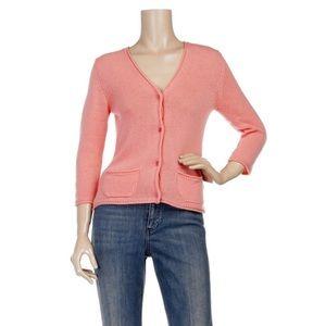 MIU MIU - Cropped Cashmere sweater cardigan, L